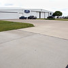 The Covington Aircraft hanger on the Okmulgee Airport.