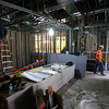 The main lobby under construction at  the Circle Cinema Theatre in Tulsa.