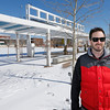 Craig Immel of Steadystate Geothermal pauses for a photo in front of the Guthrie Green park and geothermal location in downtown Tulsa.