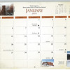 """Grid"" photo of Foggy Kissing Couple as it appeared in 2014 Colorado National Monument calendar"