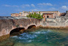 Fort Geronimo bridge in San Juan, Puerto Rico, West Indies.