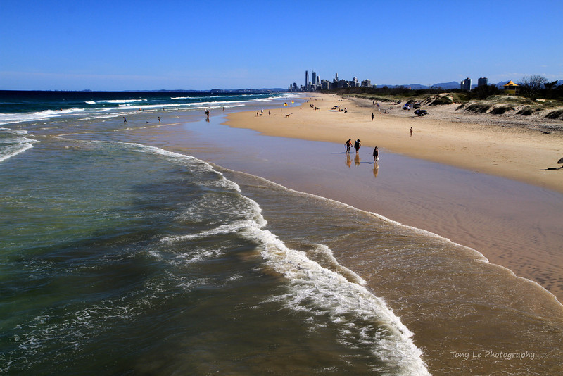 The Spit, Gold Coast.