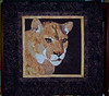 'On the Prowl'  (Pattern by: Toni Whitney, Bigfork Bay Cotton Co.) Donated to Felidae Conservation Fund July 2013