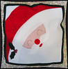 2014/10 Christmas Santa face pillow