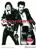 PACO RABANNE Black XS L'Excès 2012 Spain (Marionnaud stores) 'The new fragrance - Disponible en nuestras perfumerías'<br /> MODELS: Sasha Pivovarova (Russia), Nick Rea (UK), PHOTO: Josh Olins