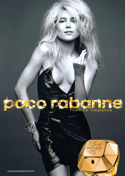PACO RABANNE Lady Million 2010 UK (format OK)  'The new fragrance'
