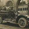 Engine 12 in front of the company's quarters in 1915. Photo from eBay.