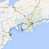 June 7 Lunenburg to Murphy's camping on the ocean 265km