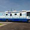 Mobile AIDS testing RV, Dallas County, funded by Elton John AIDS foundation, Dallas, TX