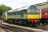 Class 25 Diesel Locomotive number D7612 is seen at Buckfastleigh.<br /> 5th August 2014