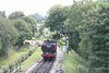 57xx Pannier Tank number L92 at Buckfastleigh shunts towards the stock before working the 1300 Buckfastleigh to Totnes.<br />  5th August 2014