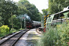 57xx Pannier Tank number L92 approaches Staverton with 1130 Buckfastleigh to Totnes.<br /> 5th August 2014