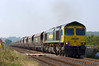 66953 with the  08:25 Portbury Coal Terminal to Fiddlers Ferry P Stn service.
