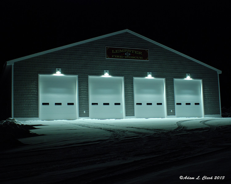 12.12.2013  Now up and operational, the Lempster Fire Department's building looks much better than it did 11 months ago