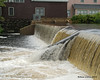 07.31.2014 <br><br>Rain has made the flow over this dam increase.  Most days, the water isn't high enough to go over the far side