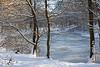 L'étang gelé