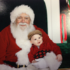 Wilson's first Santa.  Photographer's Name: Chris Husted Photographer's City and State: Lapel, Ind.