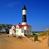 Big Sable Point Lighthouse on a calm summer day  Photographer's Name: Steve Nowakowski Photographer's City and State: Lambertville, MI