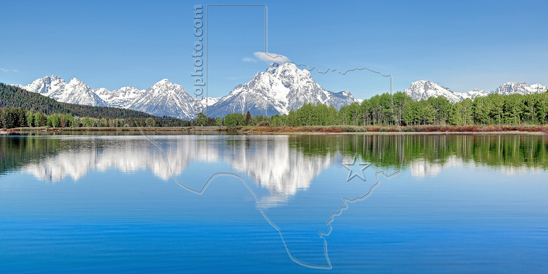 Oxbow Bend in Snake River, Grand Teton National Park, Wyoming Wyoming, USA