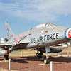 North American F-100C Super Sabre This aircraft is the first production F-100C, being built in 1954. It is displayed in the markings of 531st Tactical Fighter Squadron, 21st Tactical Fighter Wing at Misawa AB, Japan