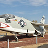 Vought/LTV RF-8C Crusader The side number - 909 is to honor the 9 VFP-63 pilots lost in Vietnam