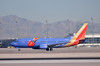 "N647SW Southwest Airlines ""Triple Crown 1"" colours  Boeing 737-3H4  McCarran International Airport Las Vegas,"