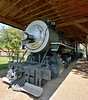 Southern Pacific Railroad (SP) Class C-9 2-8-0 Consolidation No.2579 built by Baldwin in 1906<br /> On static display in the Veterans Memorial Park in Klamath Falls, Oregon<br /> <br /> 27 May 2014