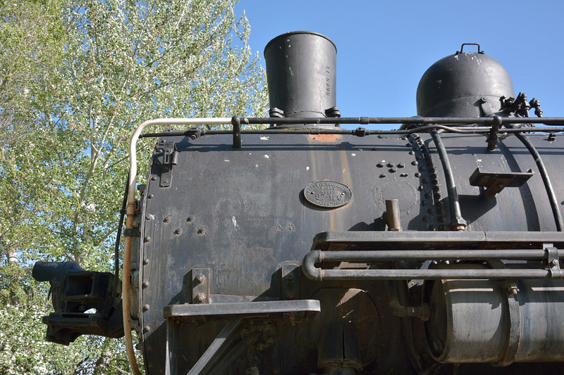 SouthernPacific Class C-8  2-8-0 No.2718. Built by Baldwin in  1904 as works no.23890.<br /> On static display in Rachael Dorris Park, Alturas,CA.<br /> <br /> 27 May 2014<br /> .