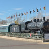 Colorado & Southern 2-8-0  loco No.638 built by ALCO in 1906. Withdrawn in 1962. Now on display in Trinidad Colorado   14  November 2013