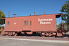 Southern Pacific Caboose donated to the City of Benson <br /> On display near the Benson Visitors Center