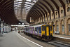 Sprinter 150210 waits to depart from York as 2C37 14.11  to Leeds<br /> <br /> 26 March 2015