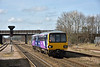 Scunthorpe bound !<br /> Pacer 144011 rolls to a halt at Hatfield with 2R63 the 09.24 from Sheffield<br /> <br /> 27 March 2015
