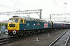 19 July 2014. Celebrity 47580 County of Essex tails on the rear of 5Z00 as she leaves Crewe for Scotland.