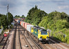 090714  70001 passes St Denys station with the 4O09  10:18 Trafford Park-Southampton