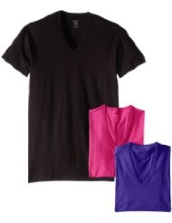2014-08-29 2(x)ist 3 Pack Slim Fit V-Neck T-Shirt $17.97