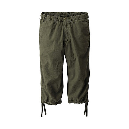 2011-06-19 Uniqlo Linen Cotton 3:4 Pants $14 90