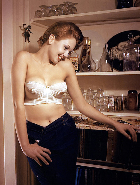 Playboy Miss October 1957
