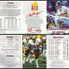 Art Monk 1987 Frito Lay Redskins Schedules