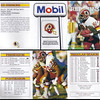 Ed Simmons 1991 Mobil Redskins Schedules