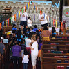 Opening session for VBS with Indian Christian Church.
