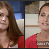 17 yr old distracted driver, Kate (L) and Emily, daughter of victim, speak in the powerful new video. Watch the video here.