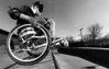 Blake Simpson WCMX, Disabled athlete, riot mob