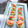 River Café Cured Salmon Canapé