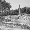 Only the smokestack and piles of rubble remain of the hydroelectirc power plant on the Rockfish River outside of Schuyler in Nelson County. Near the intersection of Rts. 693 and 617