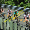 Longbranch Road Race. Ladies crossing the bridge.