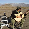 Early morning practice session in Panamint Valley