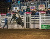 Tim Bingham rode to an 82 Friday night to win the Bullriding competition at the 2014 Sisters Rodeo - Sisters, Oregon © 2014 Gary N. Miller, Sisters Country Photography
