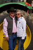 Chris & Kellie Schaad on Sunday afternoon at the 2014 Sisters Rodeo - Sisters, Oregon © 2014 Gary N. Miller, Sisters Country Photography