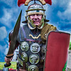 "Roman Re Enactment Society . "" Legion Ireland"" at Fort Camden, Cork Ireland."