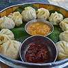 Our favorite Nepalese food - momos!